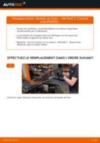 Comment changer : flexible de frein avant sur VW Golf 2 - Guide de remplacement