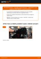 Comment changer : coupelle d'amortisseur arrière sur VW Golf 2 - Guide de remplacement