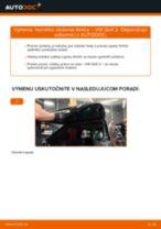 Montáž Ložisko tlmiča VW GOLF II (19E, 1G1) - krok za krokom príručky