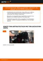 Πώς να αλλάξετε βάση αμορτισέρ πίσω σε VW Golf 2 - Οδηγίες αντικατάστασης