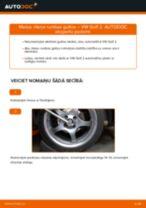 Degvielas filtrs nomaiņa uz VW GOLF II (19E, 1G1) - padomi un viltības