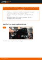 Tutorialul etapizat în format PDF pentru înlocuirea Flansa Amortizor la VW GOLF II (19E, 1G1)