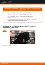 Schritt-für-Schritt-PDF-Tutorial zum Domlager-Austausch beim VW GOLF II (19E, 1G1)