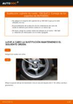 Cómo cambiar: cojinete de rueda de la parte delantera - VW Golf 2 | Guía de sustitución