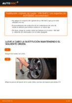 Cómo cambiar: cojinete de rueda de la parte trasera - VW Golf 2 | Guía de sustitución