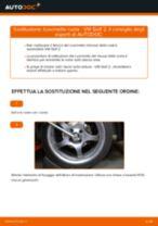 Come cambiare cuscinetto ruota della parte anteriore su VW Golf 2 - Guida alla sostituzione