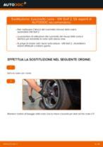 Come cambiare cuscinetto ruota della parte posteriore su VW Golf 2 - Guida alla sostituzione