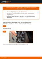 Byta hjullager bak på VW Golf 2 – utbytesguide