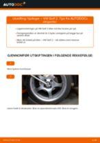 Hvordan bytte Baklykt høyre bak VW Touran 5t - guide online