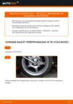 Jak wymienić łożysko koła przód w VW Golf 2 - poradnik naprawy