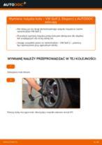 Jak wymienić łożysko koła tył w VW Golf 2 - poradnik naprawy