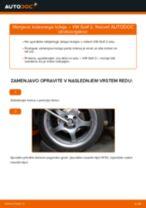 Kako zamenjati avtodel kolesni ležaji spredaj na avtu VW Golf 2 – vodnik menjave