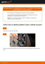 Comment changer : roulement de roue arrière sur VW Golf 2 - Guide de remplacement