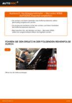 Wie Mercedes W168 Heckklappendämpfer wechseln - Anleitung