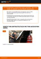 Αντικατάσταση Αμορτισερ πισω πορτας MERCEDES-BENZ μόνοι σας - online εγχειρίδια pdf