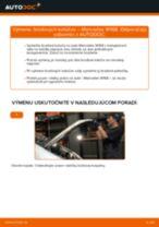 Ako vymeniť predné brzdové kotúče na Mercedes W168 diesel – návod na výmenu