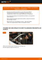 MERCEDES-BENZ Scheibenbremsen belüftet selber auswechseln - Online-Anleitung PDF