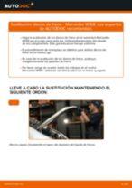 Instalación Frenos de disco MERCEDES-BENZ A-CLASS (W168) - tutorial paso a paso