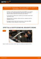 Come cambiare dischi freno della parte anteriore su Mercedes W168 diesel - Guida alla sostituzione