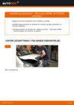 Udskiftning af Fjäderben bag og foran MERCEDES-BENZ gør det selv - online manualer pdf