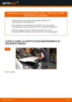 Cómo cambiar: amortiguador telescópico de la parte delantera - Mercedes W168 diésel   Guía de sustitución