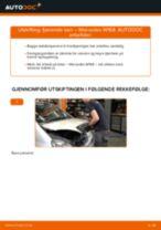 Montering Støtdempere MERCEDES-BENZ A-CLASS (W168) - steg-for-steg manualer
