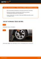 MERCEDES-BENZ A-CLASS Amortizators maiņa: bezmaksas pdf