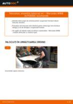 Schimbare Amortizor MERCEDES-BENZ A-CLASS: manual de intretinere si reparatii