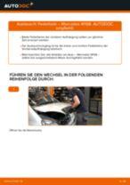 Auswechseln Glühkerzen MERCEDES-BENZ A-CLASS: PDF kostenlos