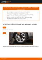 Come cambiare ammortizzatori della parte posteriore su Mercedes W168 diesel - Guida alla sostituzione