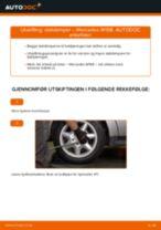 Slik bytter du støtdemper bak på en Mercedes W168 diesel – veiledning