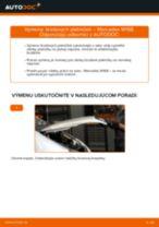 Ako vymeniť predné brzdové platničky na Mercedes W168 diesel – návod na výmenu