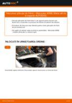 Cum se înlocuiesc și se ajustează Placute Frana MERCEDES-BENZ A-CLASS: manual pdf
