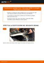 Come cambiare pastiglie freno della parte posteriore su Mercedes W168 - Guida alla sostituzione