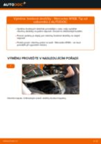 Jak vyměnit zadní brzdové destičky na Mercedes W168 – návod k výměně