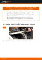 Substituição Jogo de pastilhas para travão de disco MERCEDES-BENZ A-CLASS: pdf gratuito