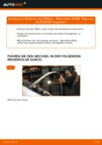 Auswechseln Fernscheinwerfer Glühlampe MERCEDES-BENZ A-CLASS: PDF kostenlos