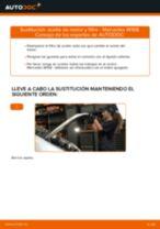 Cómo cambiar: aceite y filtro - Mercedes W168 diésel   Guía de sustitución