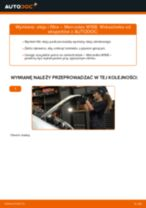 Jak wymienić oleju silnikowego i filtra w Mercedes W168 diesel - poradnik naprawy