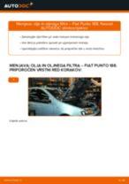 Kako zamenjati avtodel motorna olja in filter na avtu Fiat Punto 188 diesel – vodnik menjave
