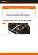 Como mudar óleo do motor e filtro em Mercedes W168 diesel - guia de substituição