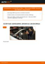 MAHLE ORIGINAL OX1537D2ECO eest A-klass (W168) | PDF asendamise õpetused
