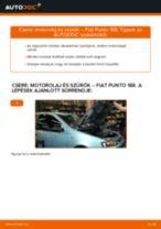 ALFA ROMEO 166 Fékbetét készlet csere - tippek és trükkök