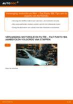 Hoe Ruitenwisserstangen vervangen en installeren FIAT PUNTO: pdf tutorial