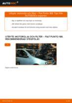 Byta motorolja och filter på Fiat Punto 188 diesel – utbytesguide