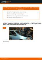 Mekanikerens anbefalinger om bytte av FIAT Fiat Punto 188 1.2 16V 80 Hjullager
