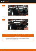 Kako zamenjati avtodel brisalce spredaj na avtu Fiat Punto 188 bensin – vodnik menjave
