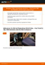 Priročnik PDF o vzdrževanju PUNTO