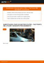 Como substituir Sapata de freio de mao dianteiro Renault Megane 2 - manual online