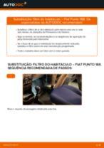 Guia passo-a-passo do reparo do Fiat Punto Evo